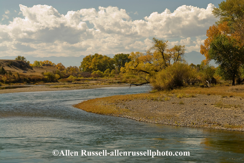 Missouri River, Missouri Headwaters State Park northeast of Three Forks Montana