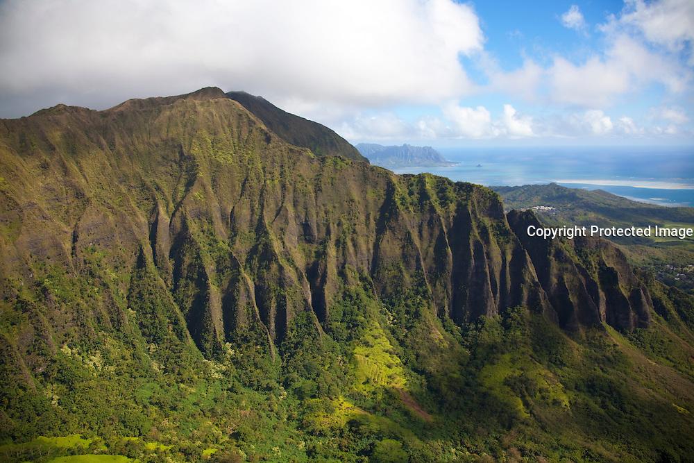 Koolau Mountains, Windward Oahu, Hawaii