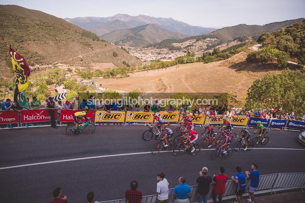 September 7th 2017, Suances to Santo Toribio de Liébana, Spain; Cycling, Vuelta a Espana Stage 18;