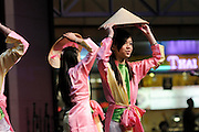 Asian ESL students from Secondary Bilingual Orientation Center perform at Folklife Festival in Seattle