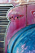 A close picture of an old truck seen along Route 66. Missoula Photographer
