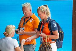 Den Dulk Nicole, Van der Heijden Maarten, Heuitink Joyce, NED<br /> World Equestrian Games - Tryon 2018<br /> © Hippo Foto - Dirk Caremans<br /> 18/09/2018