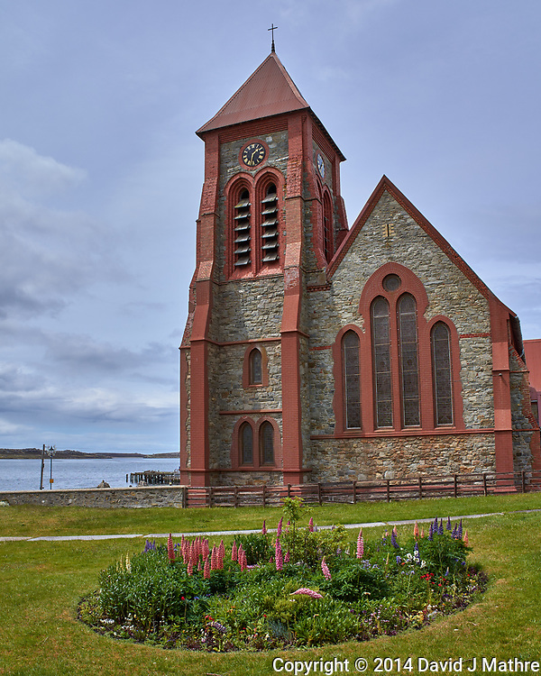Christ Church Cathedral, Stanley. Image taken with a Leica T camera and 18-56 mm lens (ISO 100, 18 mm, f/9, 1/320 sec). Raw image processed with Capture One Pro, Focus Magic, and Photoshop CC.