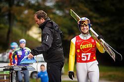 Babnik Tim during national competition in Ski Jumping, 8th of October, 2016, Kranj,  Slovenia. Photo by Grega Valancic / Sportida