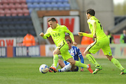 Southend United midfielder, Jack Payne (10) during the Sky Bet League 1 match between Wigan Athletic and Southend United at the DW Stadium, Wigan, England on 23 April 2016. Photo by John Marfleet.