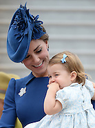 Kate, Charlotte, George & William Arrive In Canada
