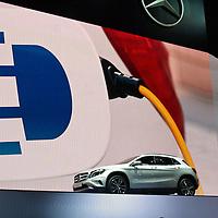 Mercedes Stand at the IAA 2013, Frankfurt, Germany