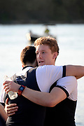 Putney/Mortlake, GREATER LONDON. United Kingdom. 2017 Women's and Men's University Boat Races, held over, The Championship Course, Putney to Mortlake on the River Thames. James COOK<br /> Sunday  02/04/2017, <br /> <br /> [Mandatory Credit; Intersport Images]