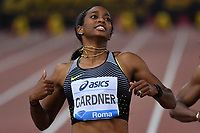 English GARDNER USA 100m Women <br /> Roma 03-06-2016 Stadio Olimpico <br /> IAAF Diamond League Golden Gala <br /> Atletica Leggera<br /> Foto Andrea Staccioli / Insidefoto
