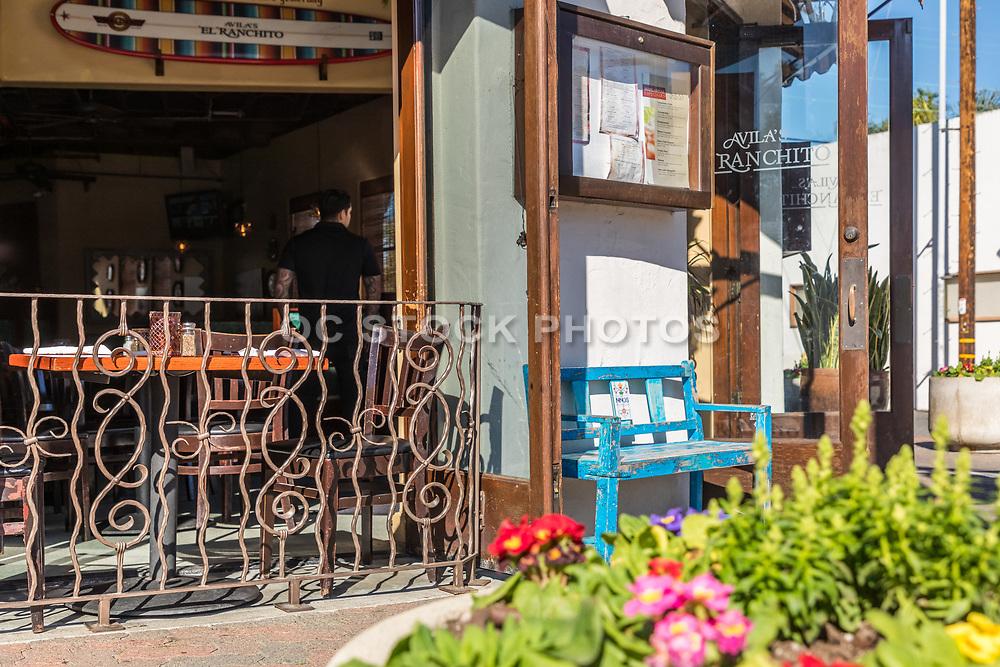 Avila's El Ranchito Mexican Restaurant on Ola Vista and Del Mar