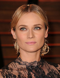 Diane Kruger arrive at the 2014 Vanity Fair Oscar Party in West Hollywood, California, USA,  Sunday, 2nd March 2014. Picture by Hollywood Bubbles / i-Images<br /> UK ONLY