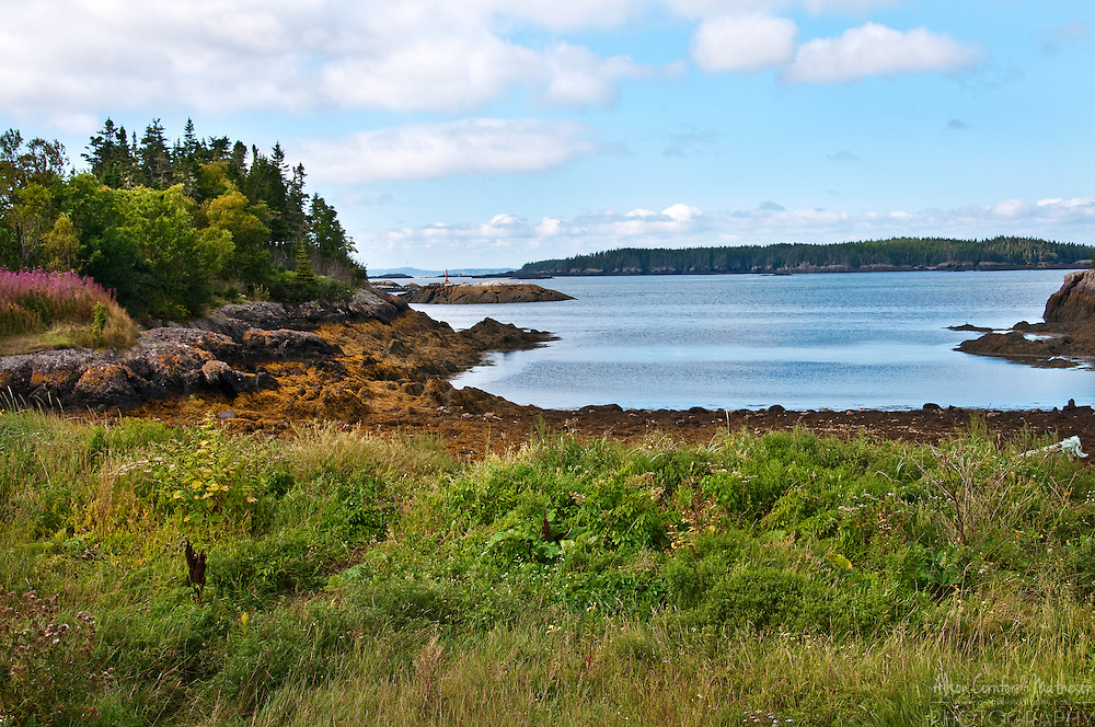 The beautiful landscape of Blacks Harbour, New Brunswick