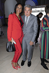 May 3, 2019 - Madrid, Spain - Manuel Santana and Claudia Rodríguez to the party  presentation of the Mutua Madrid Open 2019, at the Prado Museum in Madrid, Spain, 03 May 2019. The Mutua Madrid Open runs from 3 until 12 May 2019. (Credit Image: © Oscar Gonzalez/NurPhoto via ZUMA Press)