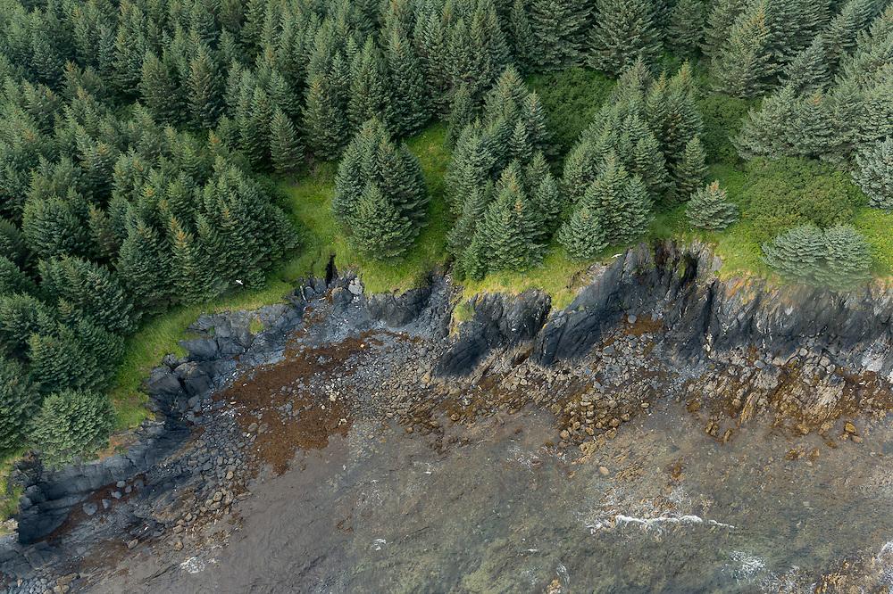 Kodiak Island landscape form Seaplane