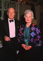 The EARL & COUNTESS OF LIMERICK at a party in London on 23rd March 1998.<br /> MGH 52