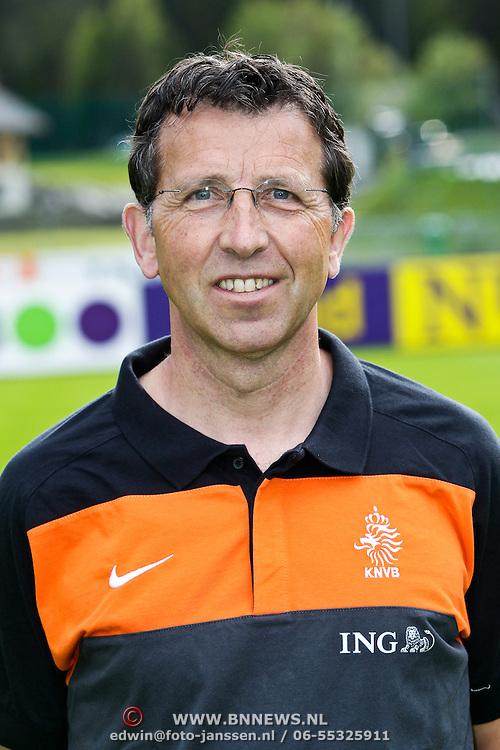 AUS/Seefeld/20100529 - Training NL Elftal WK 2010, conditietrainer Luc van Agt
