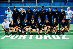 Referees after the Final match of ATP Challenger Zavarovalnica Sava Slovenia Open 2017, on August 12, 2017 in Sports centre, Portoroz/Portorose, Slovenia. Photo by Vid Ponikvar / Sportida