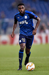 September 20, 2018 - Rome, Italy - Mustapha Carayol of Apollon Limassol during the UEFA Europa League Group Stage match between Lazio and Apollon Limassol at Stadio Olimpico, Rome, Italy on 20 September 2018. (Credit Image: © Giuseppe Maffia/NurPhoto/ZUMA Press)