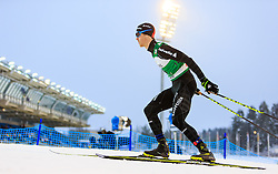 19.02.2016, Salpausselkae Stadion, Lahti, FIN, FIS Weltcup Nordische Kombination, Lahti, Langlauf, im Bild Tim Hug (SUI) // Tim Hug of Switzerland competes during Cross Country Gundersen Race of FIS Nordic Combined World Cup, Lahti Ski Games at the Salpausselkae Stadium in Lahti, Finland on 2016/02/19. EXPA Pictures © 2016, PhotoCredit: EXPA/ JFK