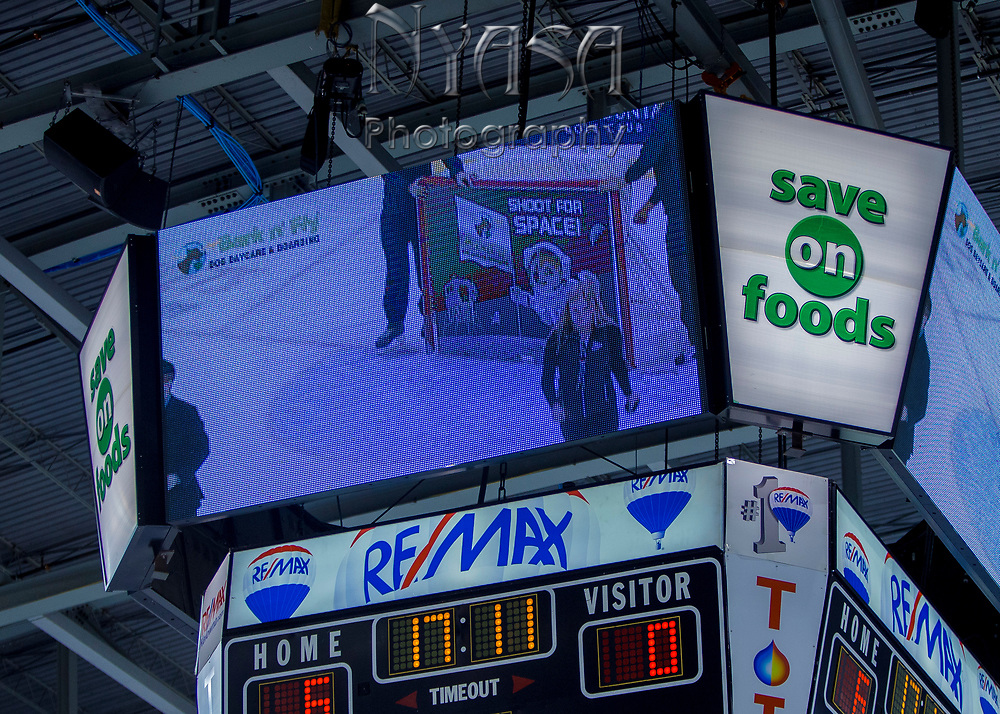 KELOWNA, CANADA - SEPTEMBER 22:  Bark N' Fly Promotion at the Kelowna Rockets on September 22, 2017 at Prospera Place in Kelowna, British Columbia, Canada.  (Photo By Cindy Rogers/Nyasa Photography,  *** Local Caption ***