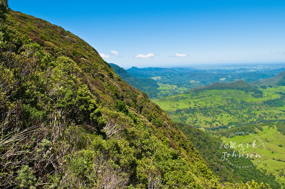 View from Echo Point Lookout, Albert River Circuit, Lamington National Park, Queensland, Australia