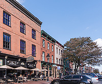 Baltimore Lifestyle image of Crescent Apartments of Fells Point by Jeffrey Sauers of Commercial Photographics, Architectural Photo Artistry in Washington DC, Virginia to Florida and PA to New England