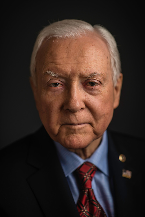 WASHINGTON, DC -- 12/21/17 -- Senator Orrin Hatch is the senior senator from Utah, Chairman of the Senate Finance Committee and President pro tempore of the United States Senate..…by André Chung #_AC27101