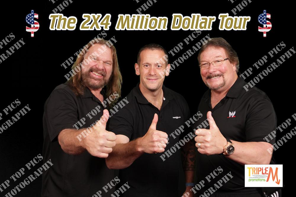 THE 2X4 MILLION DOLLAR TOUR, TED DEBIASE, JIM DUGGAN, MDA PROMOTIONS, WRESTLING