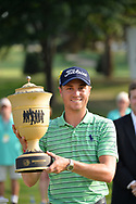Justin Thomas<br /> With the trophy after winning the WGC Bridgestone  Invitational 2018<br /> <br /> 5th August 2018<br /> GKob