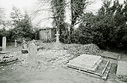 Bray Village, Bray/Maidenhead, Berkshire, UK.<br /> <br /> General view of St Michael's Church, Bray, General View Head stones in the church grounds. <br /> <br /> Friday  17/04/2015<br /> <br /> [Mandatory Credit; odd-stock.com]