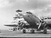 24/03/1954 1954 - 24/03 DC Dakota at Dublin Airport