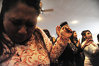 High emotions during services at Apostolic Life Community Church on Williams Road in east Salinas. An award-winning gospel choir raises the roof here every Sunday, accompanied by an enthusiastic congregation joining together for music and prayer.