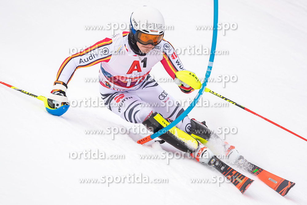 26.01.2020, Streif, Kitzbühel, AUT, FIS Weltcup Ski Alpin, Slalom, Herren, im Bild Linus Strasser (GER) // Linus Strasser of Germany in action during his run in the men's Slalom of FIS Ski Alpine World Cup at the Streif in Kitzbühel, Austria on 2020/01/26. EXPA Pictures © 2020, PhotoCredit: EXPA/ Johann Groder