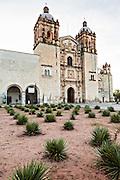 Church of Santo Domingo de Guzmán in the historic district October 30, 2013 in Oaxaca, Mexico.
