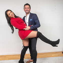 """Victoria Obahor and Brian Matthews, stars of the new Channel 4 series """"Sex Tape"""""""