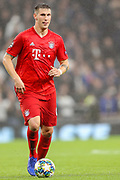 Bayern Munich defender Niklas Süle (4) during the Champions League match between Tottenham Hotspur and Bayern Munich at Tottenham Hotspur Stadium, London, United Kingdom on 1 October 2019.