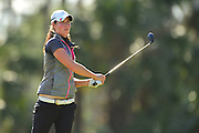 Laetitia Beck during the final round of LPGA Q-School Stage 3 on the Hills Course at LPGA International in Daytona Beach, Florida on Dec. 4, 2016.<br /> <br /> <br /> ©2016 Scott A. Miller