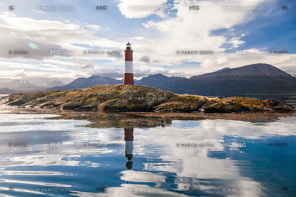 FARO LES ECLAIREURS, CANAL BEAGLE, USHUAIA, PROVINCIA DE TIERRA DEL FUEGO, ARGENTINA (PHOTO BY © MARCO GUOLI - ALL RIGHTS RESERVED. CONTACT THE AUTHOR FOR ANY KIND OF IMAGE REPRODUCTION)