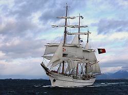 , Argentina - 3/23/2010 - Sagres Ship in Ushuaia Bay, Tierra del Fuego Argentina(Photo by Gustavo Enzo Masini /VWPics) *** Please Use Credit from Credit Field *** *** Please Use Credit from Credit Field ***