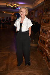 Mary Berry at the Fortnum & Mason Food and Drink Awards, Fortnum & Mason Food and Drink Awards, London, England. 10 May 2018.