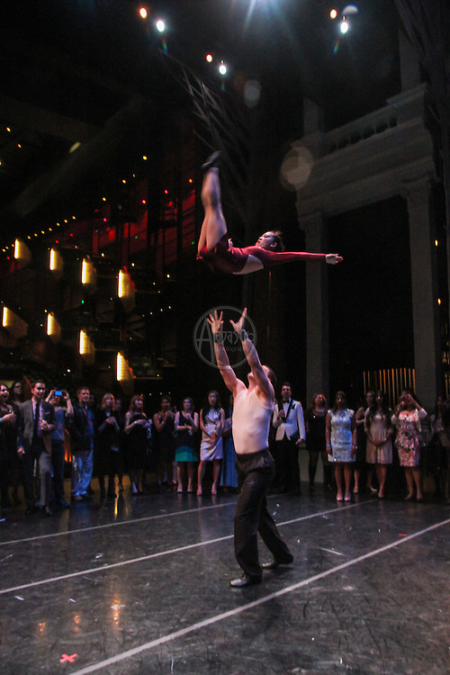 Pacific Northwest Ballet Young Patron's Circle Black Swan Soiree. SANCA performance.