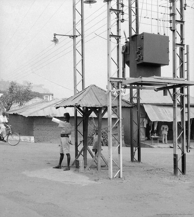 Traffic Policeman, Abeokuta, Nigeria, Africa, 1937