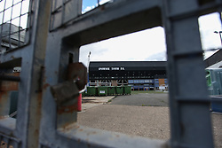 Gates remain locked to supporters - Mandatory by-line: Arron Gent/JMP - 05/09/2020 - FOOTBALL - Portman Road - Ipswich, England - Ipswich Town v Bristol Rovers - Carabao Cup