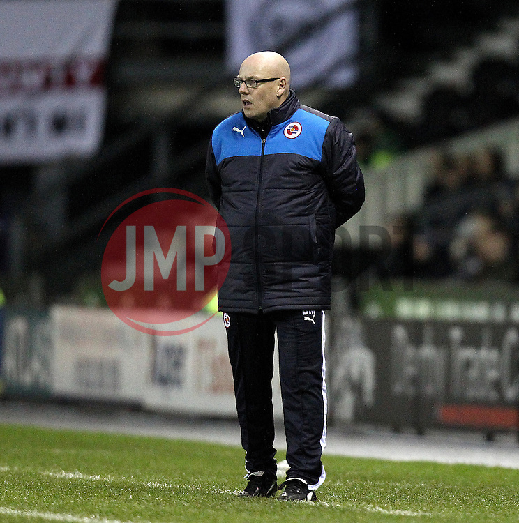 Reading Manager Brian McDermott - Mandatory byline: Robbie Stephenson/JMP - 12/01/2016 - FOOTBALL - iPro Stadium - Derby, England - Derby County v Reading - Sky Bet Championship