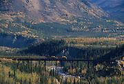 Alaska Railroad, Fall, Denali National Park, Alaska
