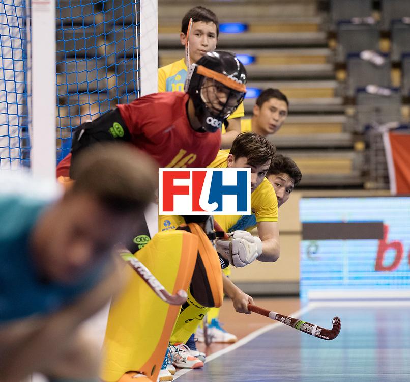 BERLIN - Indoor Hockey World Cup<br /> Men: Australia - Kazakhstan<br /> foto: <br /> WORLDSPORTPICS COPYRIGHT FRANK UIJLENBROEK