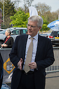 ANDREW JONES Parliamentary under Secretary of State at Department for Transport, Preview for The London Motor Show, Battersea Evolution. London. 5 May 2016