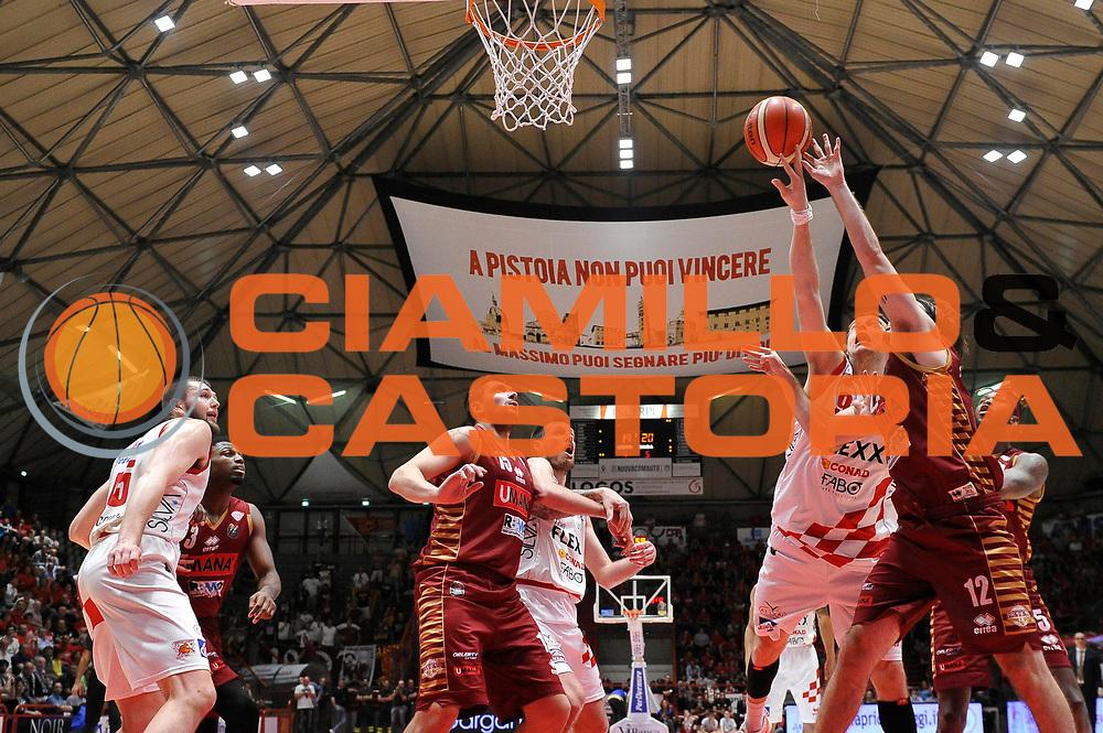 Antonutti Michele<br /> The Flexx Pistoia Basket - Umana Reyer Venezia<br /> Lega Basket Serie A 2016/17<br /> Pistoia, 17/05/2017<br /> Foto Ciamillo-Castoria