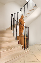 1610 28th Steet Washington DC Frank Babb Randolph designer Stair stairway