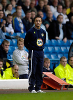 Photo: Jed Wee.<br />Leeds United v Southend United. Coca Cola Championship. 28/10/2006.<br /><br />Leeds' new manager Dennis Wise.